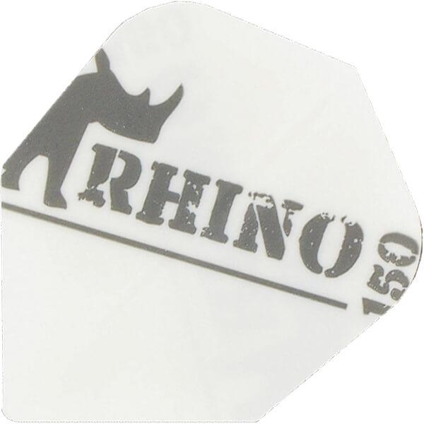 target – Rhino150 flights - hvid på dartshop