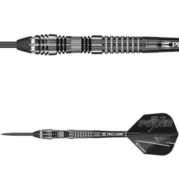 Billede af Target, The Power 8-Zero Black v.4 Dartpile 21 gram