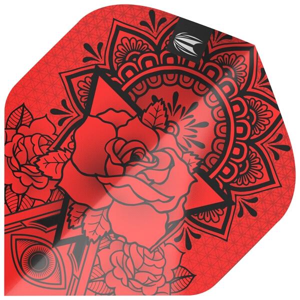 Ink pro ultra rød standard fra target fra dartshop