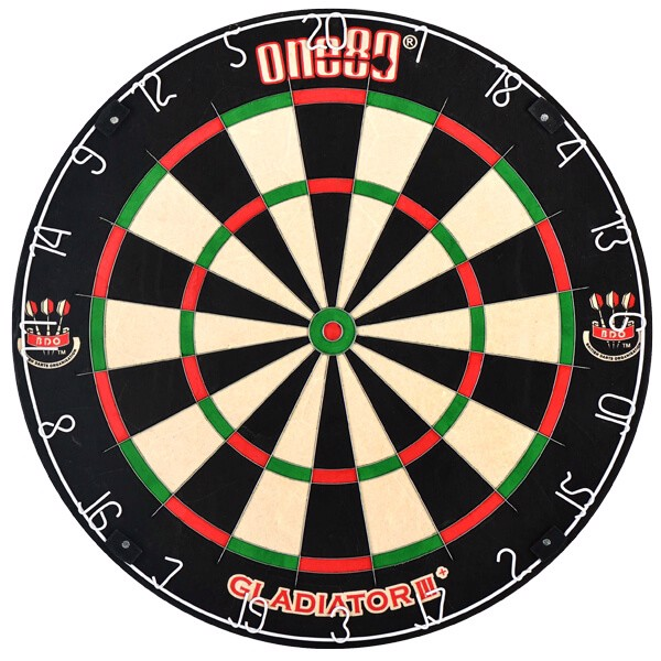 One80 gladiator iii dartskive fra one80 på dartshop