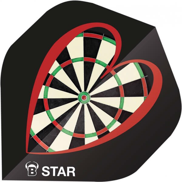 Image of   B-Star Flights - Love Darts