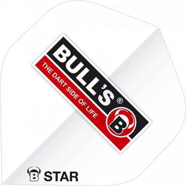 Image of   B-Star Flights - Bulls Logo Hvid