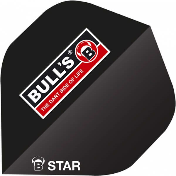 Image of   B-Star Flights - Bulls Logo Sort