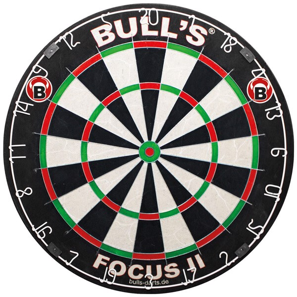 bull's – Bull´s focus ii bristle dartskive på dartshop