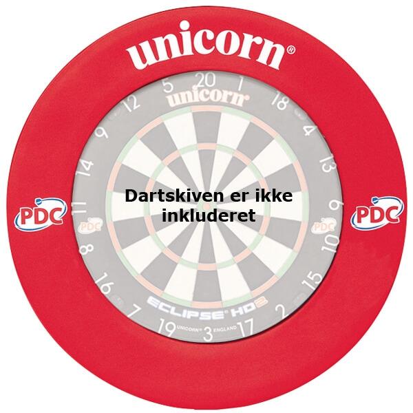 Unicorn pdc beskyttelsesring (rød) fra unicorn fra dartshop