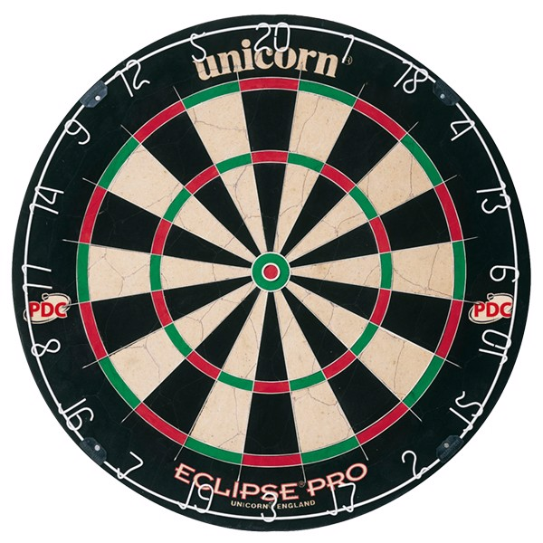 Unicorn Eclipse Pro Bristle Dartskive