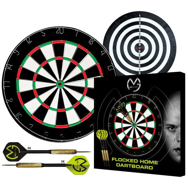 xq max – Mvg papir dartskive (inkl. 2 sæt dartpile) på dartshop