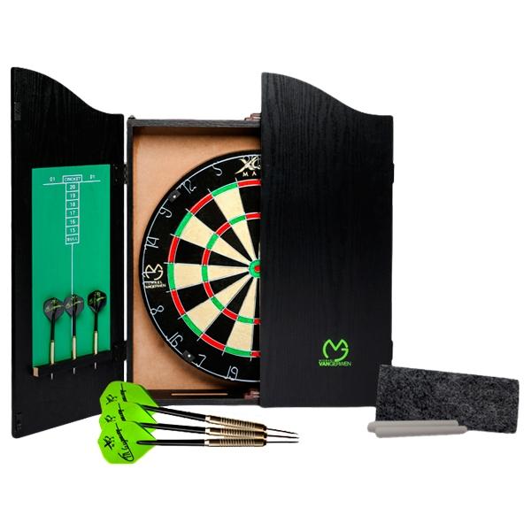 xq max – Michael van gerwen home dart center (sort) på dartshop