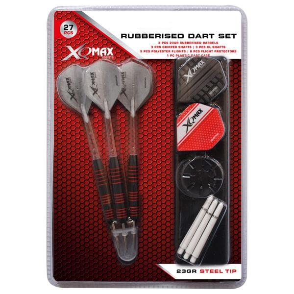 xq max Xq max dartpile - gummibelagt m. tilbehør på dartshop