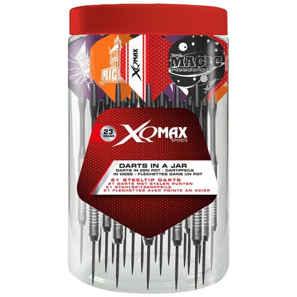 Billede af Krukke med 7 sæt dartpile (XQ Max Version)