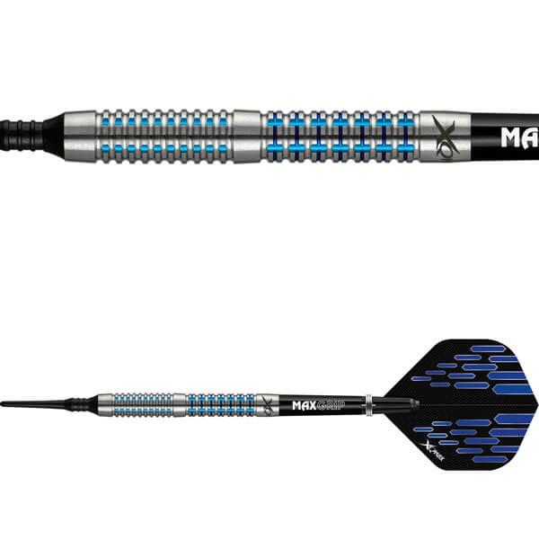 xq max Xqmax contour m2 soft tip 95% 19 gram fra dartshop