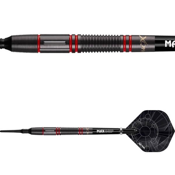 xq max – Xqmax velocity m2 rød soft tip 90% 19 gram på dartshop