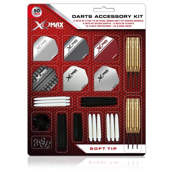 Xq max - 2 sæt dartpile med tilbehør (soft) fra xq max fra dartshop