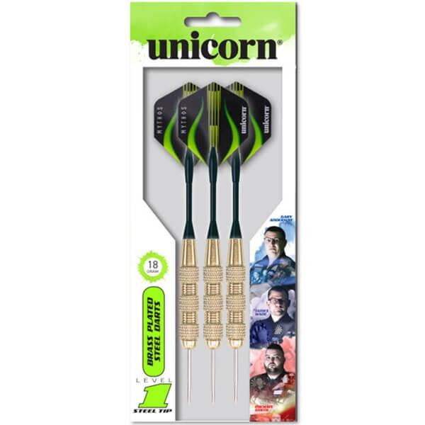 Unicorn level 1 messing dartpile fra unicorn på dartshop